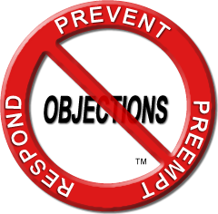 Prevent Preempt Respond to Objections round logo